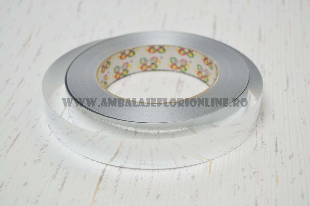 Rola 2CM Metalizat Argintiu