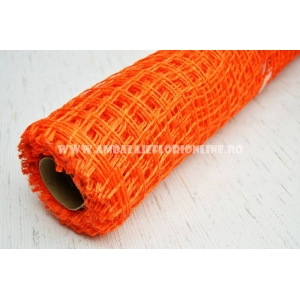Plasa iuta portocalie