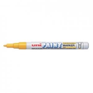 Marker cu vopsea cu varf foarte subtire PX21 galben