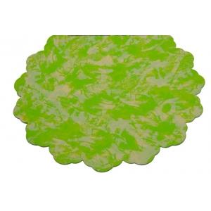 Celofan Rotund 50CM Patat Verde cu Crem