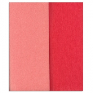 Hartie creponata Gloria Doublette roze-roz deschis, cod 3309