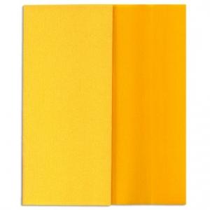 Hartie creponata Gloria Doublette galben-galben deschis, cod 3404