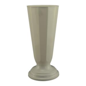 Vaza podea16x38 cm alb