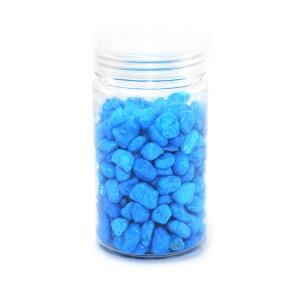 Pietris ornamental granulatie 8-12mm albastru